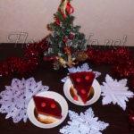Десерт желейный «Вишня на снегу»