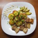 Картофель в мундире – давайте поджарим