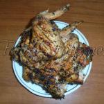 Куриные крылышки с базиликом