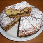 Пирог ореховый, наливной