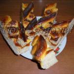Пирог с повидлом либо фруктами