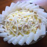Салат «Морозко» (курица и ананас)