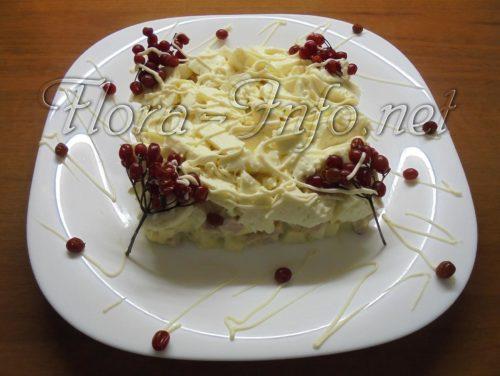 Салат с сыром Метелица