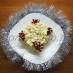 Салат с сыром «Метелица»